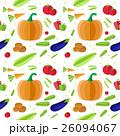 パターン 柄 模様のイラスト 26094067