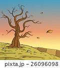 ベクトル 秋 風景のイラスト 26096098
