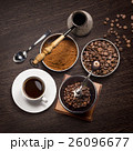 コーヒー コーヒーミル 珈琲ミルの写真 26096677