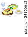 今日のご飯オムライス 26100012