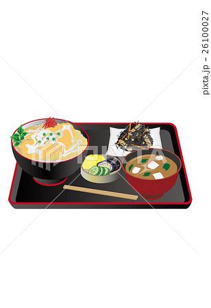 今日のご飯カツ丼 26100027