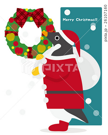 アデリーペンギン クリスマス 26107160