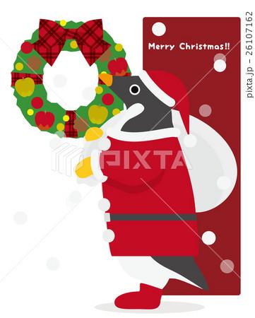 アデリーペンギン クリスマス 26107162
