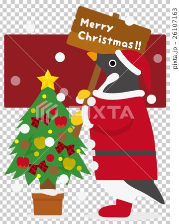 アデリーペンギン クリスマス 26107163