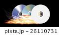 音声 CD DVDのイラスト 26110731