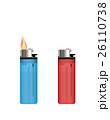 火 炎 ライターのイラスト 26110738