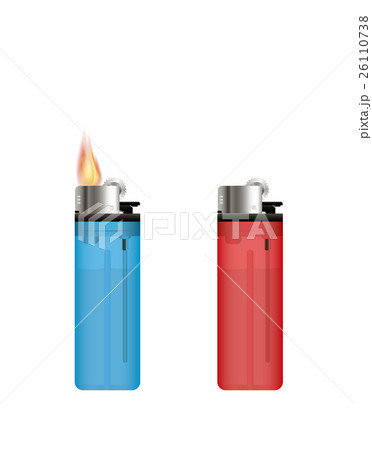 Lighter on a white background 26110738