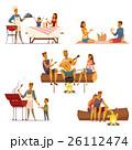 食 料理 食べ物のイラスト 26112474