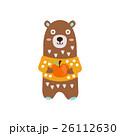 くま クマ 熊のイラスト 26112630