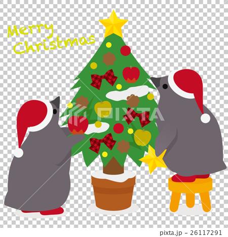 アデリーペンギン クリスマス 26117291