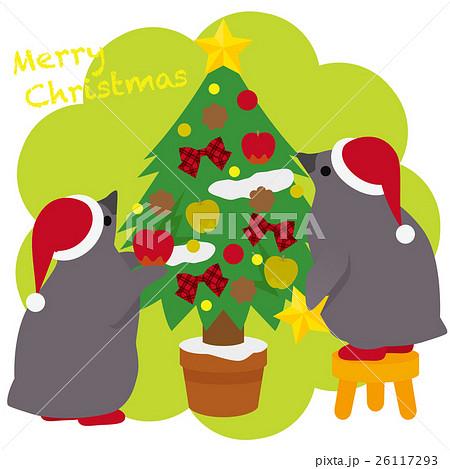 アデリーペンギン クリスマス 26117293