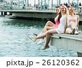 休憩 休息 桟橋の写真 26120362