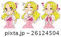 女性 セット 感情のイラスト 26124504