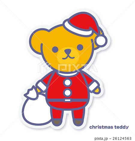 シーズンズテディ クリスマス 26124563