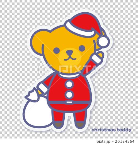 シーズンズテディ クリスマス 26124564