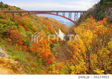 10月 磐梯吾妻スカイライン05不動沢橋つばくろ谷 26124603