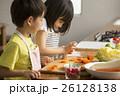 姉弟 子供 料理の写真 26128138