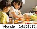 姉弟 子供 料理の写真 26128153