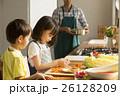 姉弟 子供 料理の写真 26128209