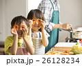 姉弟 子供 料理の写真 26128234