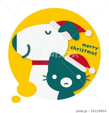 わんニャンパーク クリスマスフキダシ(黄) 26129604