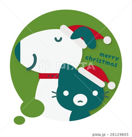 わんニャンパーク クリスマスフキダシ(緑) 26129605