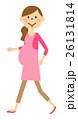 妊婦 女性 人物のイラスト 26131814