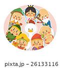 七福神 ニワトリ 酉年のイラスト 26133116