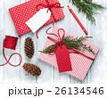 クリスマス ギフトボックス プレゼントBOXの写真 26134546