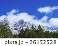 八ヶ岳 山岳 雪山の写真 26152528