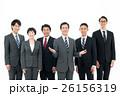 ビジネスマン ビジネスウーマン チームの写真 26156319