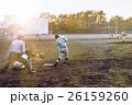 高校野球試合風景 26159260