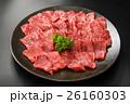 霜降り和牛ヒレ肉皿盛り 26160303