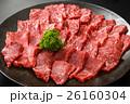 霜降り和牛ヒレ肉皿盛りアップ 26160304