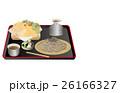 今日のご飯ざる蕎麦と天ぷら 26166327