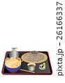 今日のご飯ざる蕎麦と天丼 26166337