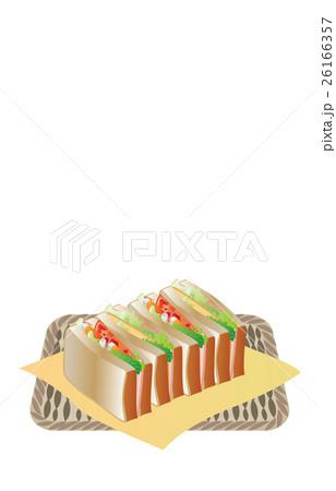 今日のご飯サンドウィッチ 26166357