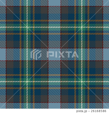 Plaid tartan seamless pattern  backgroundのイラスト素材 [26168586] - PIXTA