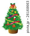 クリスマスツリー イラスト 26168663