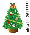 クリスマスツリー イラスト 26168664