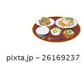 鯖の味噌煮 芋の煮っ転がし 浅漬けのイラスト 26169237