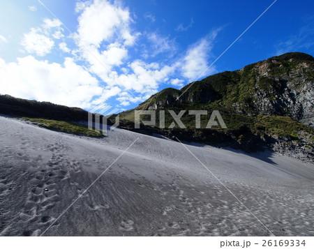 砂丘と断崖(東京都新島村) 26169334