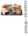 まぐろ 金目鯛 蟹汁のイラスト 26169553