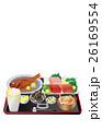 ご飯 まぐろ 金目鯛のイラスト 26169554