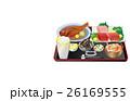 献立 手料理 まぐろのイラスト 26169555