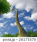 巨大草食恐竜の生活イメージCG 26173370