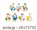 七福神 酉年 ベクターのイラスト 26173732
