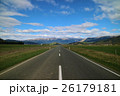 道路 風景 山の写真 26179181