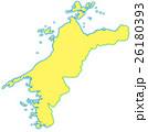 愛媛県地図 26180393