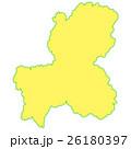 岐阜県地図 26180397